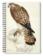 Kestril, Female Spiral Notebook