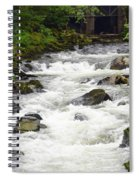Ketchikan Creek Of Creek Street Fame Spiral Notebook