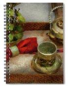 Kettle - Formal Tea Ceremony Spiral Notebook
