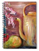Kettle And Fruit Spiral Notebook