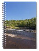 Kettle River Big Spring Falls 1 Spiral Notebook