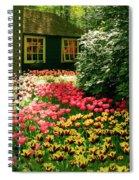 Keukenhof's Tulips Spiral Notebook
