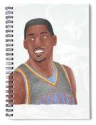Kevin Durant Spiral Notebook