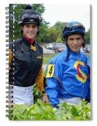 Kevin Gomez, Jomar Torres, Horacio Karamanos And Jevian Toledo - Laurel Park Spiral Notebook