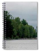 Keweenaw Waterway Lighthouse No 2 Spiral Notebook