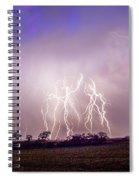 Kewl Nebraska Cg Lightning And Krawlers 038 Spiral Notebook