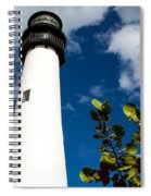Key Biscayne Lighthouse, Florida Spiral Notebook