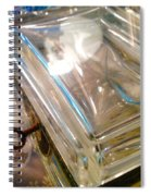 Key To Life In Abstract Spiral Notebook