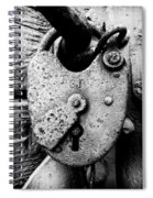 Key To My Heart Spiral Notebook