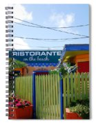 Key West Colors Spiral Notebook