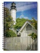 Key West Lighthouse Dsc01547_16 Spiral Notebook