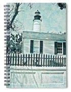 Key West Lighthouse Impression Spiral Notebook