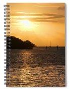 Key West Mangrove Sunrise Spiral Notebook