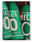 Key West Mile Zero Spiral Notebook