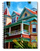 Key West Southern Most Hotel Spiral Notebook