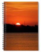 Key West Sunrise 34 Spiral Notebook