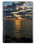 Key West Sunset 10 Spiral Notebook