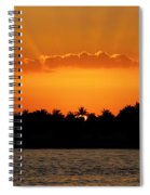 Key West Sunset 25 Spiral Notebook
