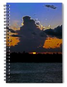 Key West Sunset Glory Spiral Notebook
