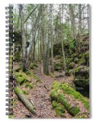 Keyhole Side Trail Spiral Notebook