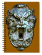 Keyhole To My Heart Spiral Notebook