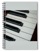 Keys Close Up Spiral Notebook