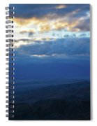 Keys View Sunset Landscape Spiral Notebook