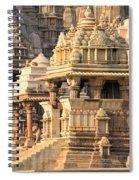Khajuraho Temple, Chhatarpur District Spiral Notebook