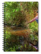 Khmer Woman Fishing - Cambodia Spiral Notebook