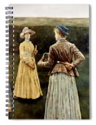 Khnopff: Memoires, 1889 Spiral Notebook