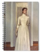 Khnopff: Sister, 1887 Spiral Notebook
