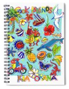 Kia Orana Cook Islands Spiral Notebook