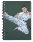 Kick Fighter Spiral Notebook