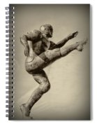 Kick Off Spiral Notebook