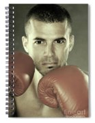 Kickboxer Spiral Notebook