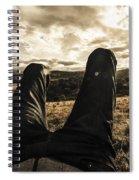 Kicking Back In Cranbrook Spiral Notebook