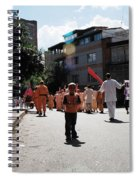 Kid On Parade Spiral Notebook