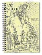 Kid Shelleen, Cat Ballou, Academy Award Winner  Lee Marvin Spiral Notebook