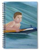 Kids Bodyboarding Spiral Notebook