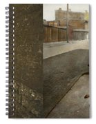 Kids - Cincinnati Oh - A Shady Game 1908 - Side By Side Spiral Notebook