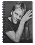 Kiefer Sutherland Spiral Notebook