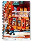 Kik Cola Depanneur Spiral Notebook