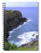 Kilauea Lighthouse And Bird Sanctuary Spiral Notebook
