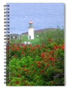 Kilauea Lighthouse Kauai Hawaii Spiral Notebook