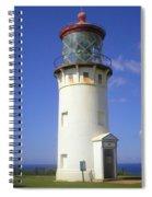 Kilaueau Lighthouse Spiral Notebook