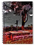 Kilkeasy Water Well, Evening Time Spiral Notebook