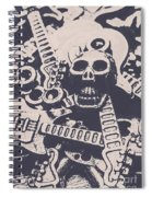 Kill The Music Industry Spiral Notebook