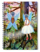 Kimlee And Kate Lorraine Spiral Notebook