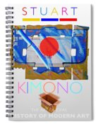 Kimono Poster Spiral Notebook