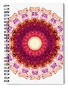 Kindness Mandala Art By Sharon Cummings Spiral Notebook